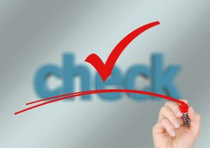 Safe Management Measures Checklist